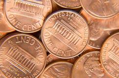 Monete degli Stati Uniti Fotografia Stock