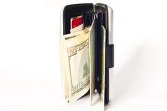 Monete dei soldi Fotografie Stock