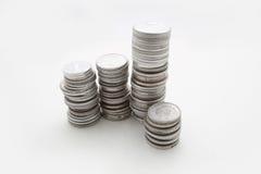 Monete della Cina Fotografia Stock