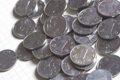 10 monete della palude della Cina sono molto piccole fotografia stock libera da diritti