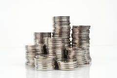 Monete - dettaglio dei soldi Fotografia Stock Libera da Diritti