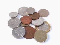 Monete di GBP Immagini Stock