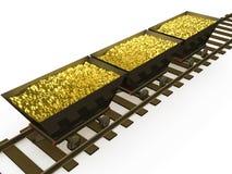 Monete di oro #1 illustrazione vettoriale