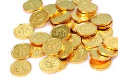 Monete di oro Immagine Stock Libera da Diritti
