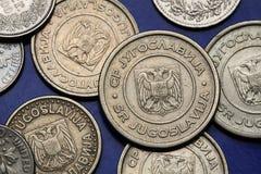 Monete di U.S.A. Moneta da dieci centesimi di dollaro degli Stati Uniti Franklin D roosevelt Immagine Stock Libera da Diritti