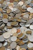 Monete europee Immagine Stock