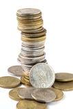 Monete greche della dracma Immagine Stock