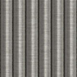 Monete impilate argento Fotografia Stock