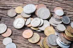 Monete miste internazionali Immagini Stock Libere da Diritti