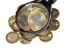 Monete russe Immagini Stock