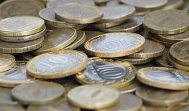 Monete russe Fotografia Stock Libera da Diritti