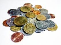 Monete tailandesi Fotografie Stock