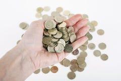 Monete turche Fotografia Stock