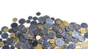 Monete ucraine Fotografia Stock Libera da Diritti