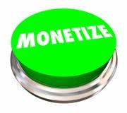 Monetize Button Make Money Revenue Stream Royalty Free Stock Photography