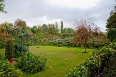Monets Garten stockfotos
