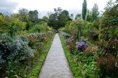 Monets Garten stockbild