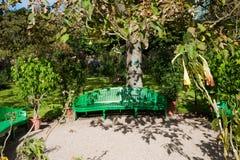 Monets Garten lizenzfreie stockbilder