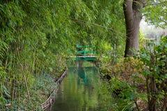 Monets Garten und Teich Lizenzfreie Stockfotos