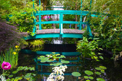 Monets ogród obraz royalty free