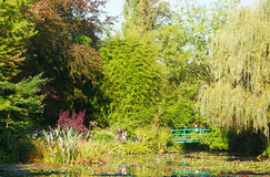 Monets Seeroseteich in Giverny Stockfoto