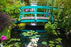 Monets trädgård Royaltyfri Bild