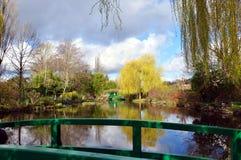 Monets trädgårdar Royaltyfria Bilder
