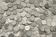 monety. Zdjęcia Royalty Free