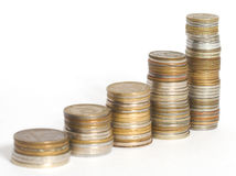 monety. Obrazy Stock