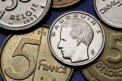 Monety Belgia Obraz Stock