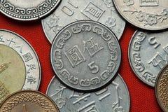 monety do tajwanu Zdjęcie Stock