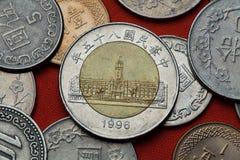 monety do tajwanu Prezydencki budynek biurowy, Taipei Fotografia Stock