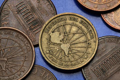 Monety Ekwador Obraz Stock