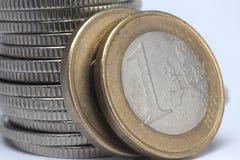 monety euro Obrazy Royalty Free