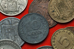 Monety holandie Zdjęcia Royalty Free