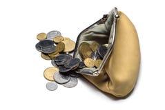 monety kiesa Zdjęcie Royalty Free