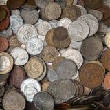 Monety kolekcja Obrazy Royalty Free