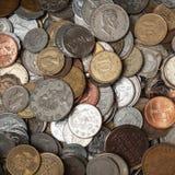 Monety kolekcja Obraz Stock