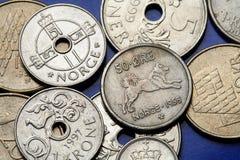 Monety Norwegia Obrazy Stock