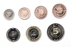 Monety od Bośnia i Herzegovina na białym tle Fotografia Royalty Free