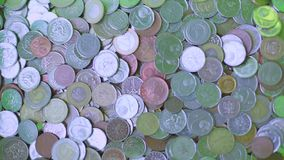 Monety od sprzedawanie rzeczy, gotówka zbiory