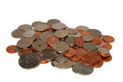 monety ringgit dolara jenów Zdjęcia Royalty Free