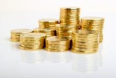 Monety - Rosyjscy ruble. Zdjęcie Stock