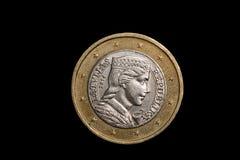 Monety zamknięty up Zdjęcie Royalty Free