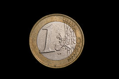 Monety zamknięty up Zdjęcia Royalty Free