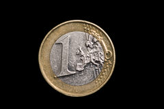Monety zamknięty up Obrazy Royalty Free