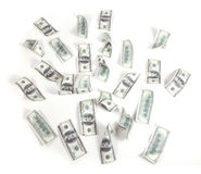 Money, 100 Dollars Royalty Free Stock Image