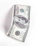 Money, 100 Dollars Royalty Free Stock Photos