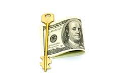 Money. On a white background Royalty Free Stock Photo