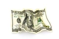 Money. On a white background Royalty Free Stock Photos